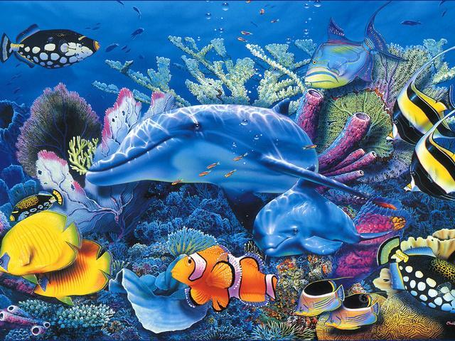Урок рисования тема на дне морском это словосочетание