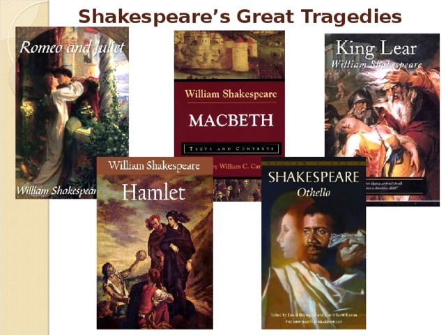Shakespeare's  Great Tragedies