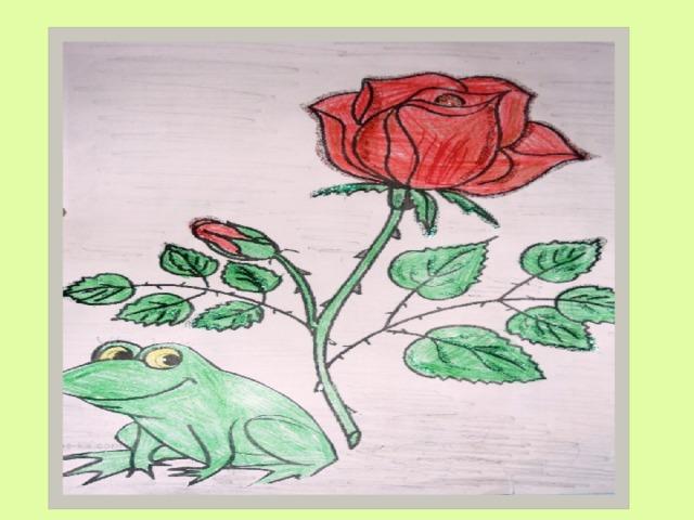 Сказка роза и жаба картинки