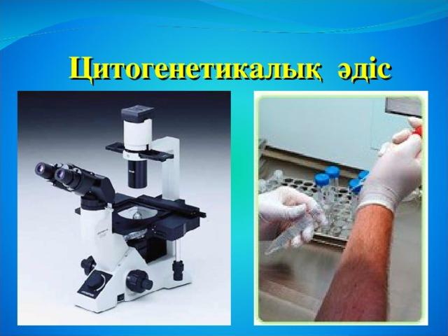 Цитогенетикалық әдіс
