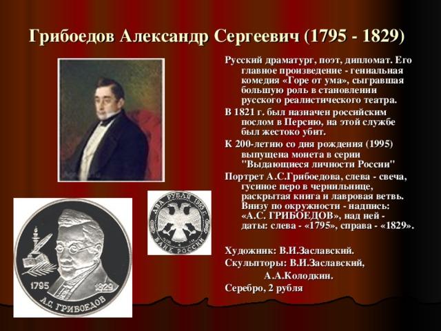 Крылов Иван Андреевич (1769 - 1844)  Русский писатель, баснописец, издатель, академик Петербургской Академии наук. Создал более 200 басен, являющихся