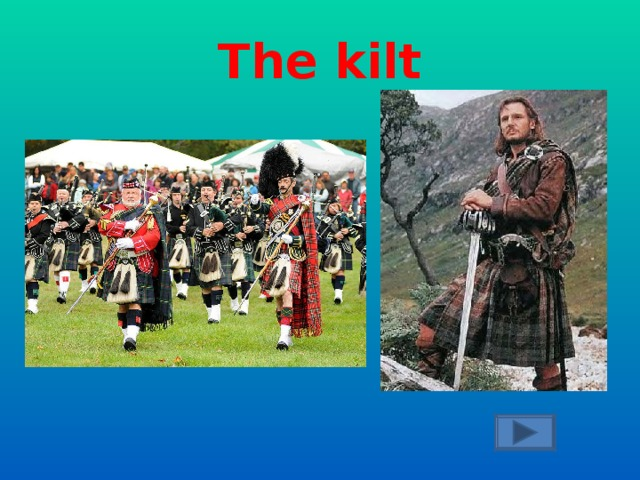 What is the national man's costume in Scotland?