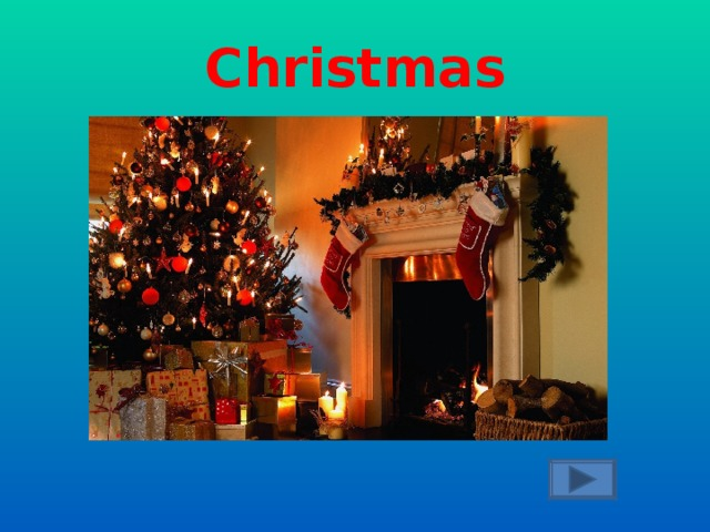 People buy presents and cards and send them to relatives and friends. The traditional food is roast turkey and pudding. People decorate streets, rooms and a tree.