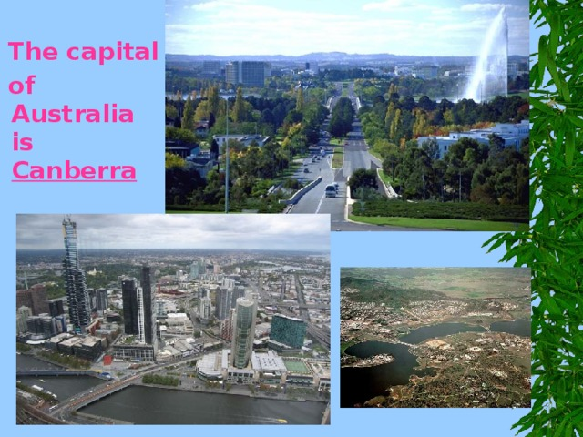 what is the capital of australia called