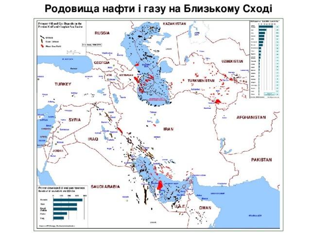 Родовищанафтиі газу наБлизькомуСході