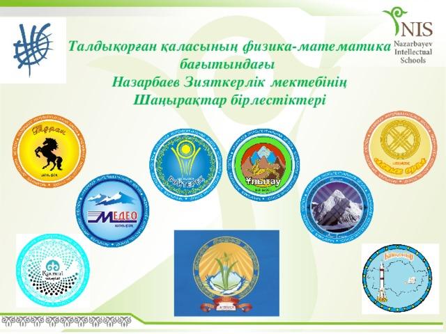 Талдықорған қаласының физика-математика бағытындағы Назарбаев Зияткерлік мектебінің Шаңырақтар бірлестіктері