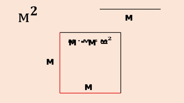 м м ∙ м =  м м