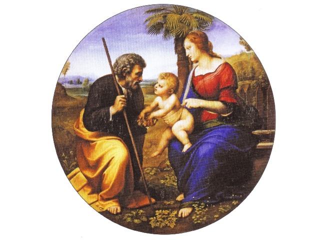 Святое семейство под пальмой. 1508