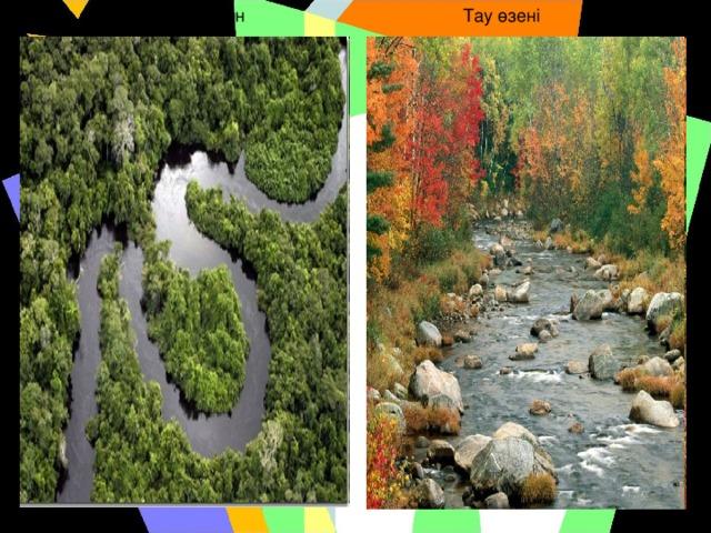 Жазықтағы өзен Тау өзені