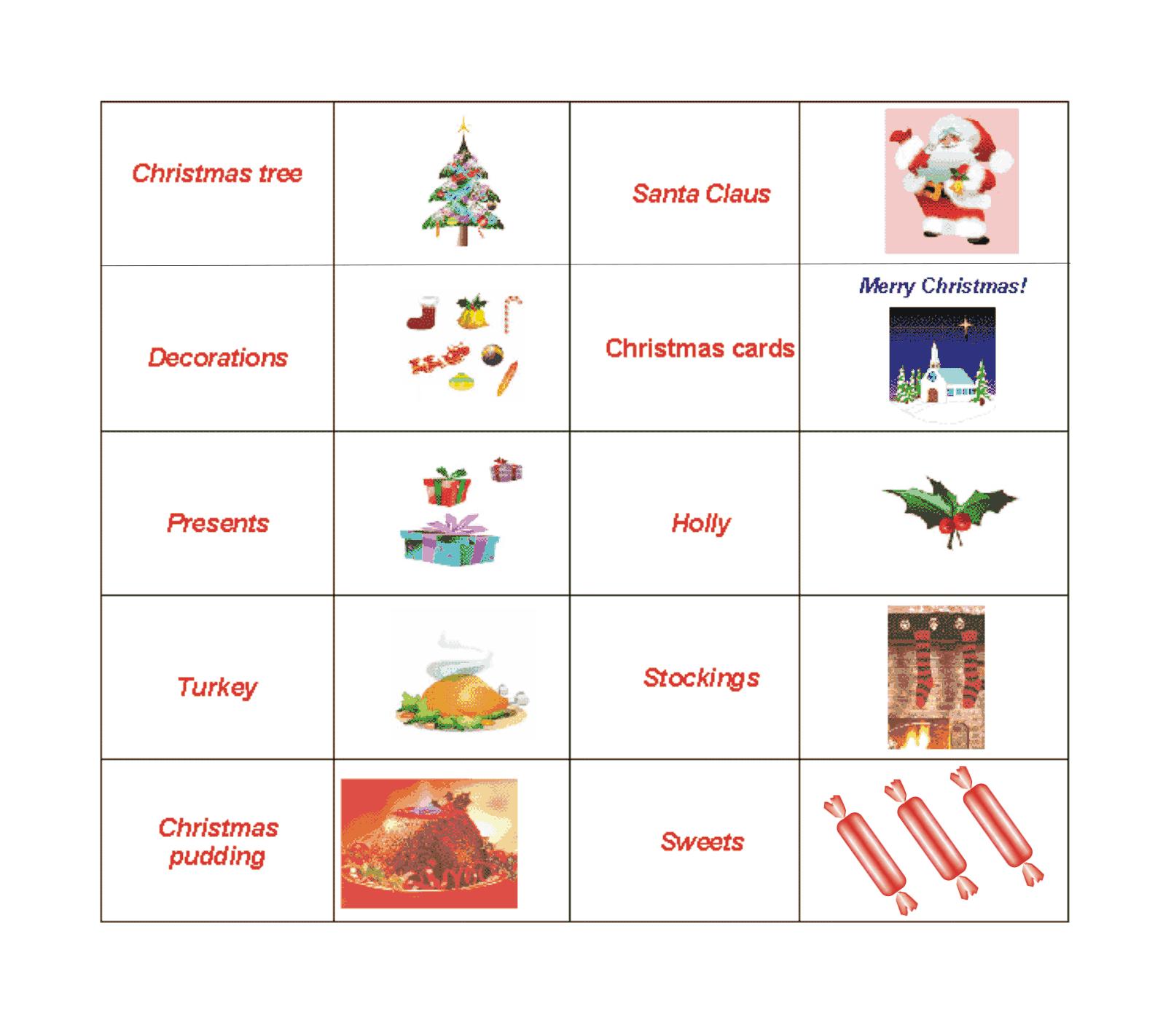 Праздники на английском в картинках