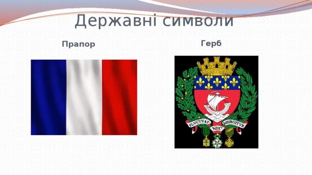 Державні символи Герб Прапор