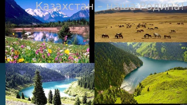 Казахстан – наша Родина !
