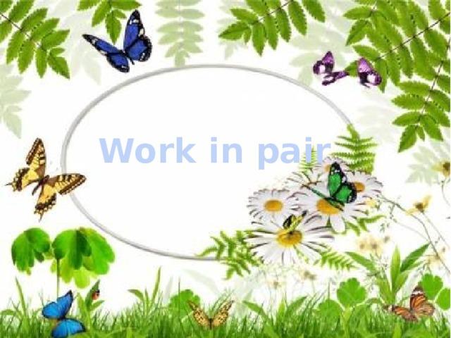 Work in pair