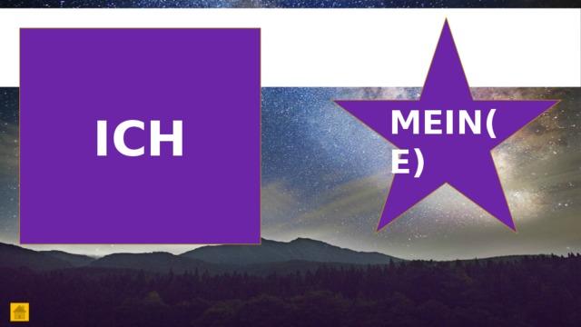 ICH MEIN(E)
