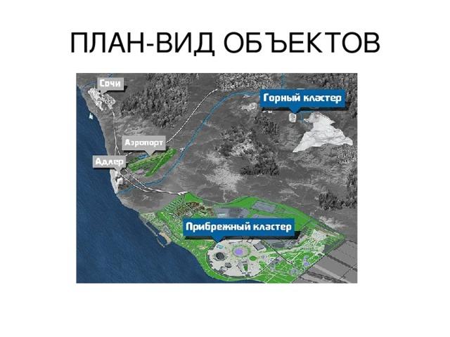 ПЛАН-ВИД ОБЪЕКТОВ