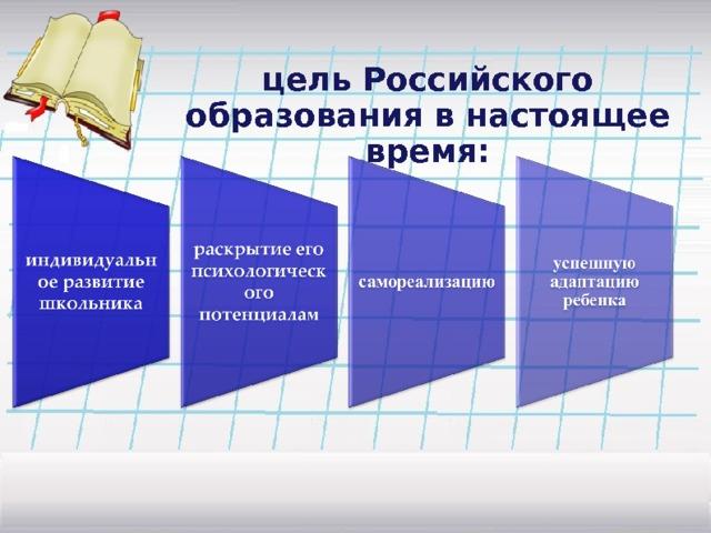 цель Российского образования в настоящее время:
