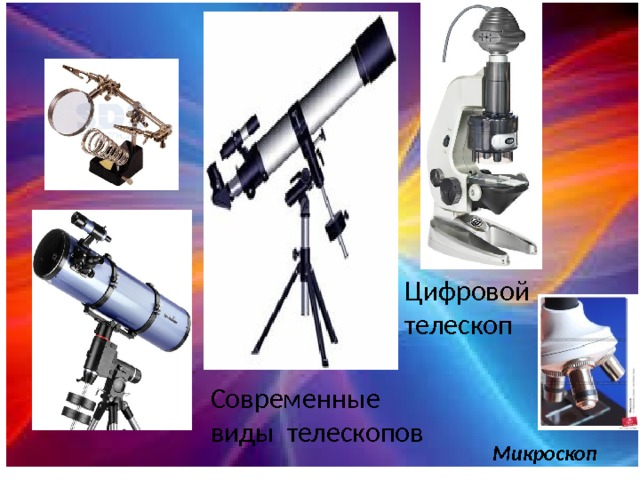 Цифровой телескоп Современные виды телескопов Микроскоп