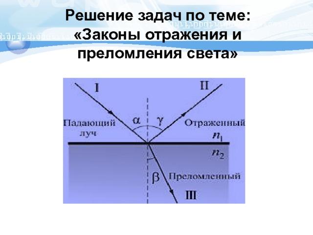 Физика 8 класс оптика решение задач задачи по тото решения