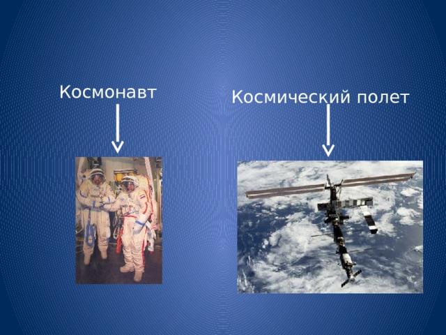 Космонавт Космический полет