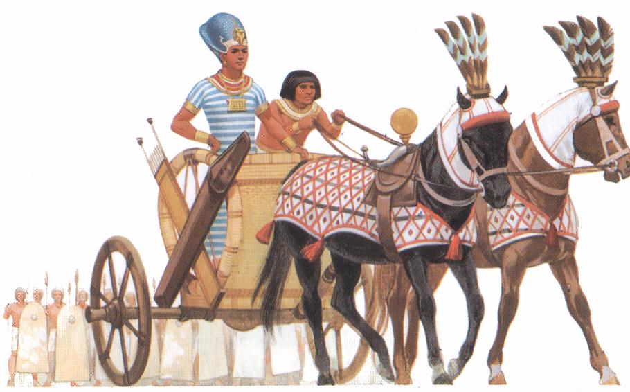 Боевые колесницы египтян картинки с описанием