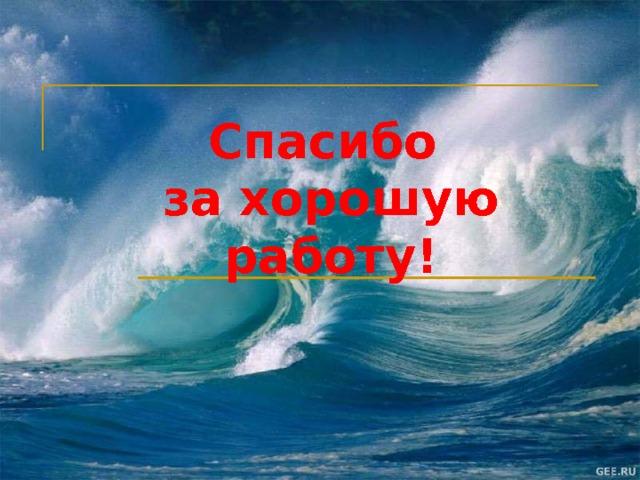 Верю – не верю 1. Вода, находящаяся в воздухе, не является частью водной оболочки Земли, а является частью атмосферы. 2. Мировой круговорот воды в природе происходит благодаря Солнцу. 3. В Мировом круговороте воды никак не задействованы подземные воды. 4. Мировой океан един, то есть из одной части его можно попасть в другую, не пересекая сушу. 5. Тихий океан омывает берега всех материков Земли. Рефлексия (слайд 12)  Учитель предлагает учащимся вернуться к игре «верю – не верю» и снова в тетради напротив номера утверждения поставить либо «+», либо «-».          (1-, 2+, 3-, 4+, 5-)