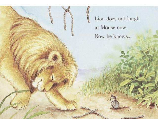 Лев и мышь картинки к басне