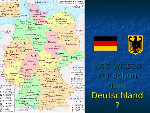 Was wissen wir schon über Deutschland?