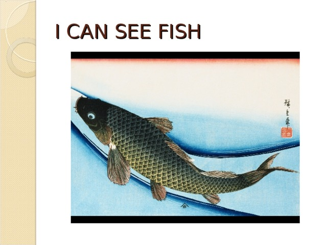 I CAN SEE FISH
